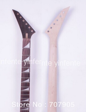 1x Electric guitar neck Maple wood Rosewood 24 fret 25.5 Unfinished new unfinished electric guitar neck maple wood rosewood truss rod 22 fret 25 5 free shipping