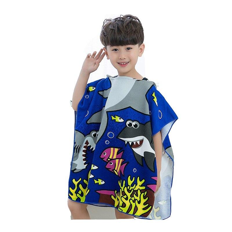 Dropwow Children Bathrobes Baby Poncho Hooded Towel 0-6T Cartoon ... ce251bcb4