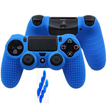 5lots 9 in 1 for Dualshock 4 PS4 Slim Pro Controller Studded Skin Premium Protective Anti-slip Soft Silicone Grip Case Cover ivyueen 9 in 1 for dualshock 4 ps4 slim pro controller studded skin premium protective anti slip soft silicone grip case cover