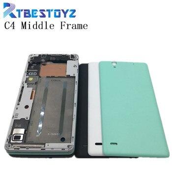 64ddc71f74f RTBESTOYZ frente marco bisel carcasa pantalla LCD sostenedor + marco medio  vivienda placa para Sony Xperia