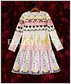 Palace Gorgeous Super Quality Heavy Color Handmade Beads Embroidery Sequin Decorated Dress Patchwork Long Sleeve Mini Dress