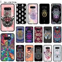 Lavaza Hamsa Hand of Fatima Soft Case for Galaxy Note 8 9 S7 edge S8 S9 S10 Plus S10e M10 20 30 Cover