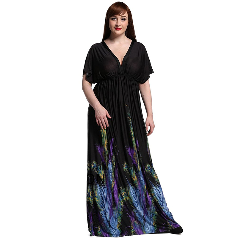 2ed2ea90e5b7d Worldwide delivery summer dress 7xl maxi in NaBaRa Online