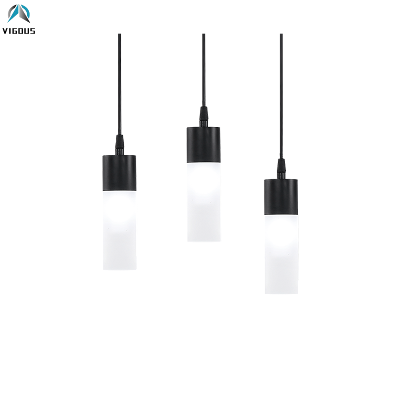 Nordic Bar G9 Led Pendant Light Matte Black Glas Tube Shades Drop Light Cable Hanging Lamp for Dining Table Lustre Luminarias худи print bar 50 shades