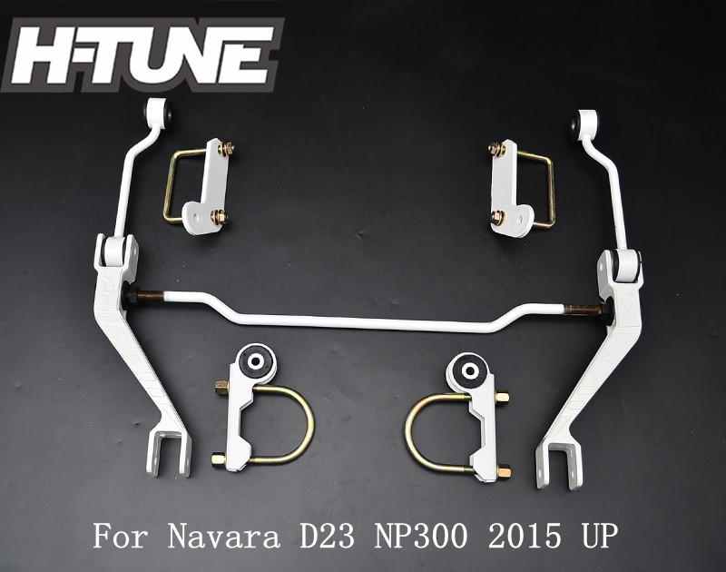 H-TUNE Rear Control Sway Anti Roll Stabilizer Bar Space Arm For Navara D23 NP300 2015 UP wlring store new sway bar for honda 92 95 eg sub frame lower tie bar 24mm sway bar for civic integra 1994 2001