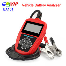 BA101 Car Battery Tester 12V Digital Analyzer  Multi Languages BAD Cell Test Car Tools/5pcs DHL fre