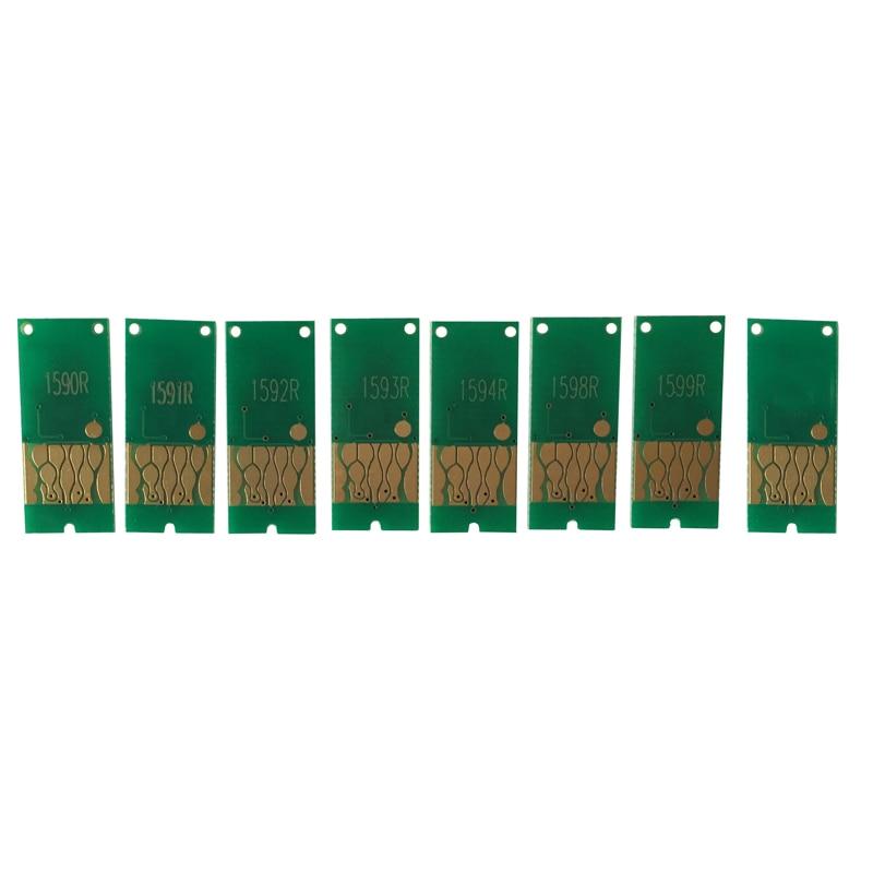 8PCS ARC Chips For EPSON Photo R2000 Refillable Ink Cartridge CISS CIS Auto Reset chip chips