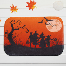 plush fabric halloween evening bedroom doormat door mat home decor carpet fashion rug carpet 2016 newest - Halloween Rugs