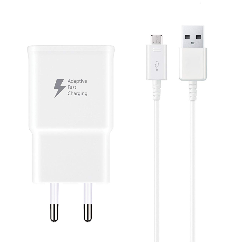 Adaptive Fast Charging Wall Charger with Micro USB Cable Kit For Samsung Galaxy S7/S7 Edge/S5/S6/S6 Edge/S4/S3/Note 4/Note 5 Mobile Phone Chargers Cellphones & Telecommunications - title=