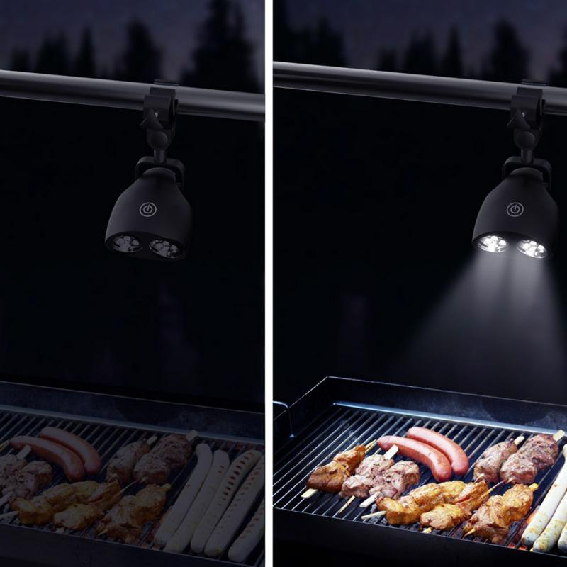 Portable LED Outdoor BBQ Grill Light Kitchen Adjustable Barbecue LED Lamp  Clip Light For Night Grilling Black Super Bright On Aliexpress.com |  Alibaba Group