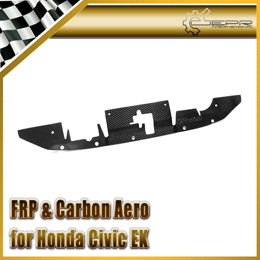 Car-styling For Honda Civic EK Carbon Fiber Cooling Panel Water Tank Cover