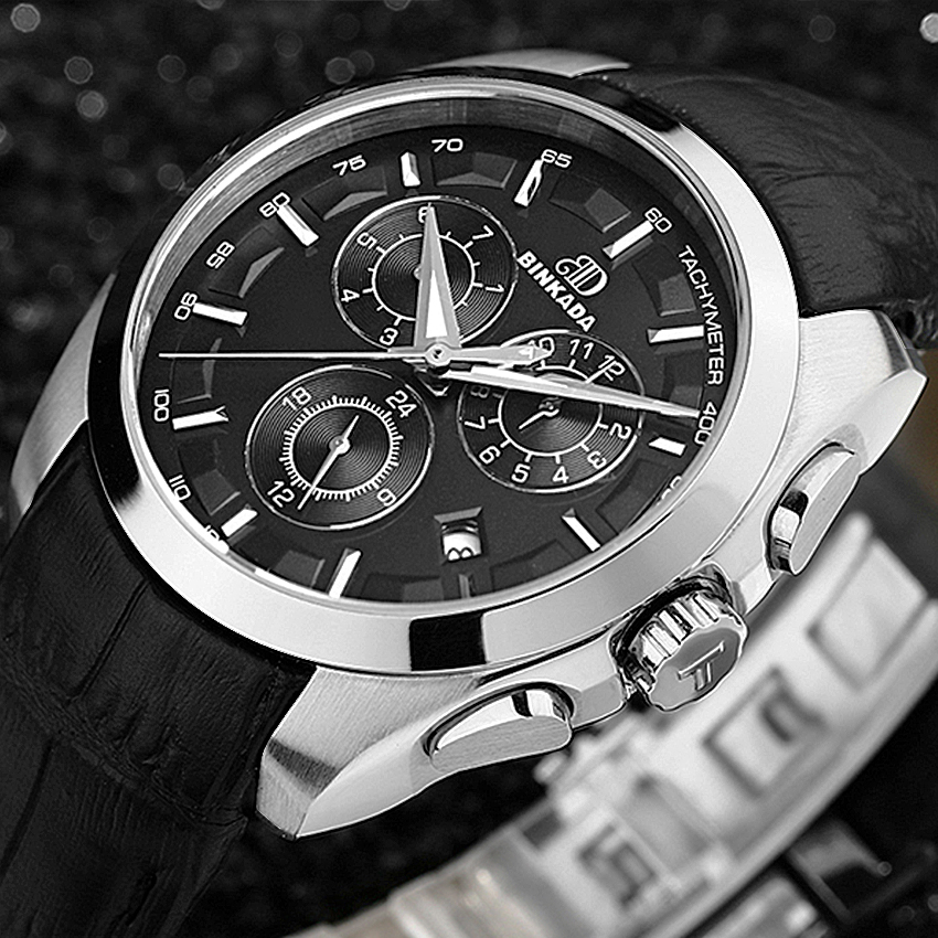 Automatic Mens Large Size Fashion Functional Watch Full Steel Military Men Watches Skeleton Tourbillon Mechanical Watch