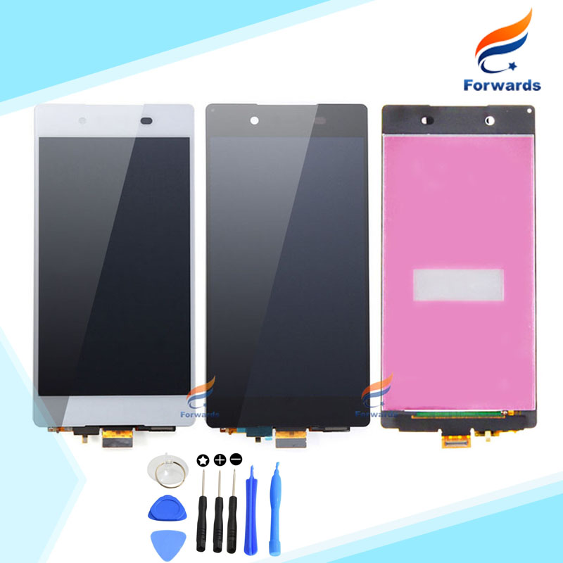 1 piece free shipping for Sony Z3 plus LCD Display with Touch Screen Digitizer Tools Assembly for Sony Xperia Z4 Z3+ E6533 E6553