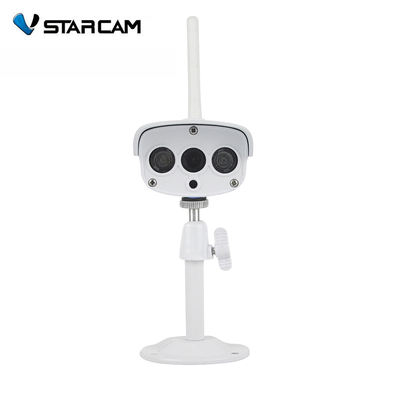 VStarcam C7816WIP Onvif HD 720P Wireless P2P IR Cut Night Vision TF Card Slot Outdoor waterproof network wifi cctv ip camera vstarcam c7815wip 720p hd wireless bullet wifi ip camera outdoor security waterproof cctv compatibility and support 128g tf card
