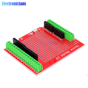New Standard Proto Screw Shield Assembled Prototype Terminal Expansion Board for Arduino Compatible Board