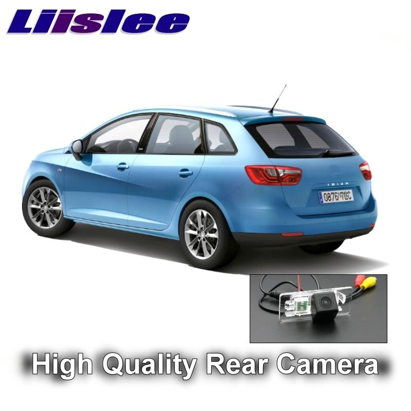 Bilkamera för SEAT IBIZA ST 5D MK4 6J 2009 ~ 2017 LiisLee högkvalitativ bakre bildsäkerhetskopia för att använda | CCD med RCA