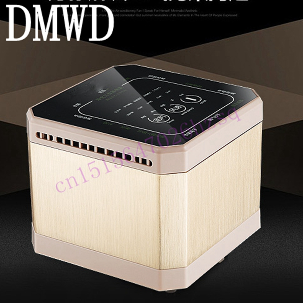 DMWD Mini air purifier household bedroom in addition to formaldehyde PM2.5 Cigarette smell dust sterilization original xiaomi air purifier 2 in addition to formaldehyde haze purifiers intelligent household appliances