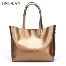 Luxury Brand Women Handbags Genuine Leather Casual Tote Bag Large Capacity Designer Vintage Leather Shoulder Bags