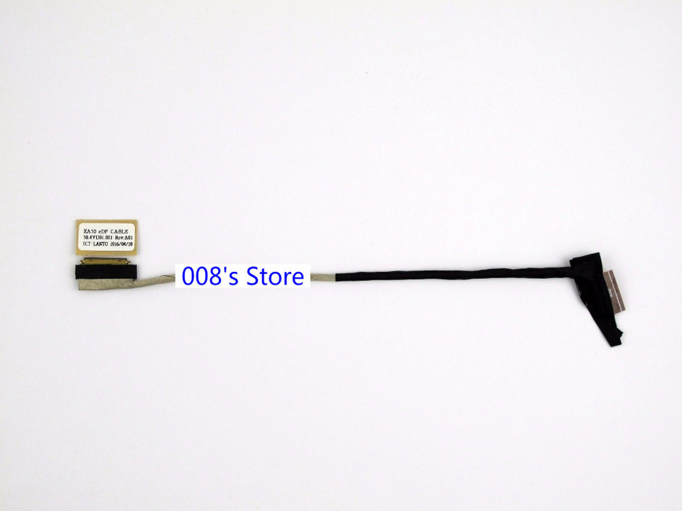 Computer Cables Yoton Laptop LCD Video Cable for Samsung NP-QX410 QX411 QX412 QX410 Screen Cable BA39-00989A Laptop Display Screen Cable Cable Length: Other