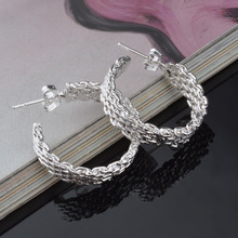 Europe And The United States .2017 New Fashion Earrings Exquisite Elegant Woven Earrings Jewelry Wholesale Sales цена 2017
