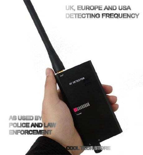 007A High power RF Signal Detectors for Personal Security Wireless B-U-G Detector Micro Wave Detector Covering