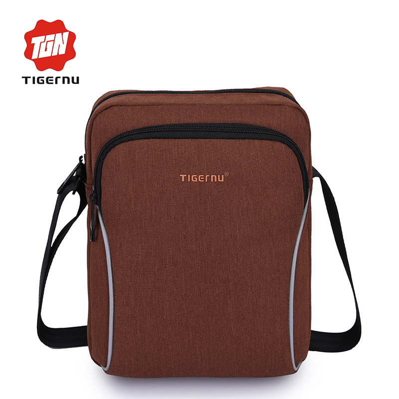 Tigernu Fashion Shockproof Men 7.9inch iPad Business Travel Cross body Bag Women Shoulder Messenger Bags Crossbody Bags for Men цена