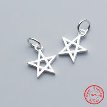 Uqbing 14*115*2 мм luck star 925 Стерлинговое Серебро Подвески