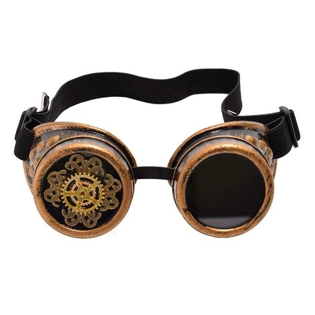 Винтажные стимпанк очки с шестерёнками 1