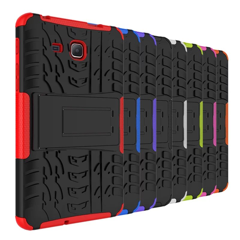 Гибридный армированный силиконовый чехол с подставкой для планшета Samsung Galaxy Tab A A6 7,0 дюйма 2016 дюйма T280 T285-2