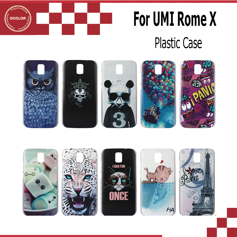 ocolor For Umi RomeRome X Case Cover Colorful Print Plastic Hard Skin Case For Umi RomeRome X Smartphone Protective Case