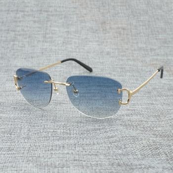aef88ef5b5 De Mujeres Sol Vintage Sin Gafas Hombres Montura UzqMVSGp