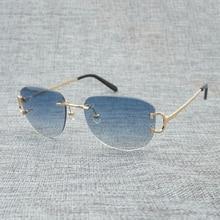 цены на Vintage Rimless Sunglasses Men Eyewear Women Sun Glasses for Summer Luxury Eyeglasses Men Glasses Frame Oculos De Sol Las Gafas  в интернет-магазинах
