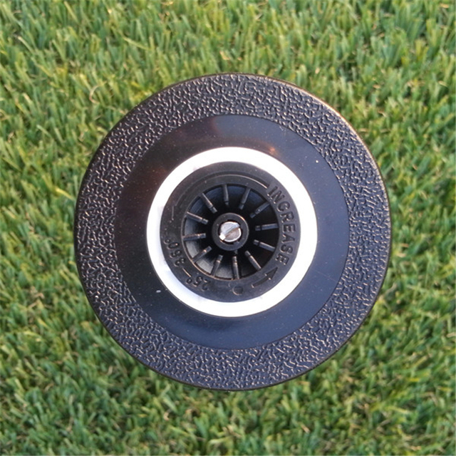 3pcs 1/2″BSP Gesu Nozzle Pop-up Lawn Sprinkler Spray-Head For Garden Supplies 25-360 Degree Irrigation Equipment Gear Sprinkler