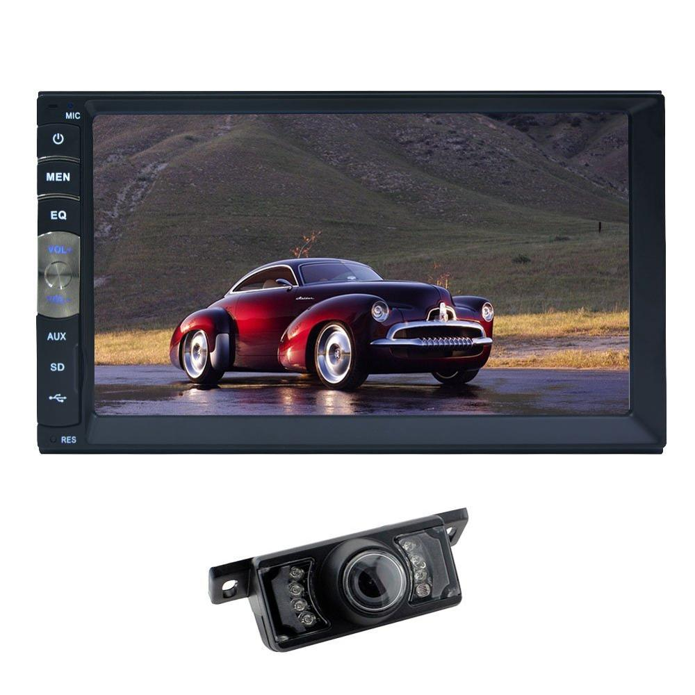 Universal Car Console Car DVD Player Touch Screen 2din Car CD VCD DVD MP5 Palyer Video Radio Player In Dash Video Players camera