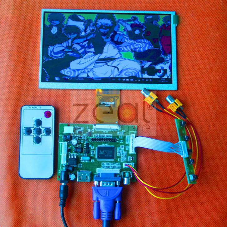 10pcs 7 inch LCD Display Monitor 800*480 For Raspberry Pi + Driver Board HDMI/VGA/2AV Size 165*100MM 5pcs lot 7 inch lcd screen 800 480 display monitor for raspberry pi driver board hdmi vga 2av 165 100mm