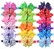 Wholesale 60pcs Pet Puppy Dog Cat Ribbon Bow Ties&Bowtie Adjustable Polka Dots Bowknot Dog Collar Dog Accessories Pet Supplies