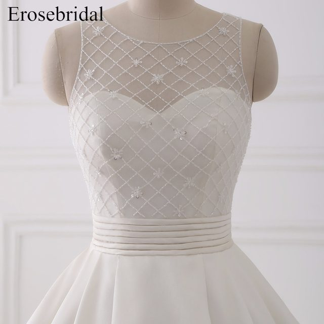 Online Shop Beautiful Ball Gown Wedding Dresses 2018 Erosebridal ...