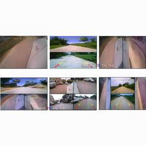 Image 5 - Koorinwoo Panoramic System DVR Box 4 Channels Available for Car Rear view Camera Video Front Side Rear Camera Parking Assistance