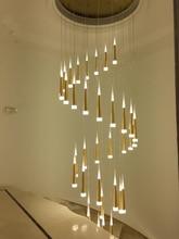 Minfu Modern Pendant Lights For Stairwells Suspended Lighting Fixtures  Pendant Lamp