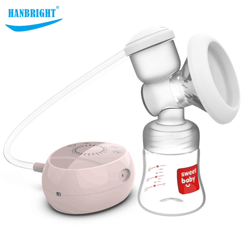 Grande Extrator De Leite Bomba de Mama sucção Mudo Máquina de ordenha Bombas de Mama Amamentação Do Bebê Ajustável Saca leche
