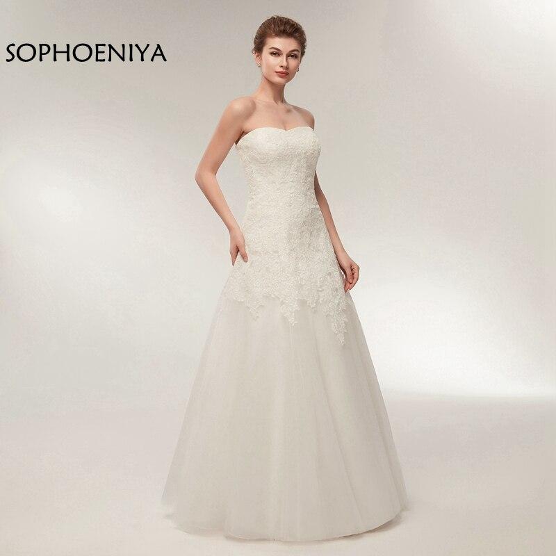 New Arrival Off the shoulder Wedding dress 2019 Robe de mariee boda Wedding dresses Cheap wedding gowns beach dress