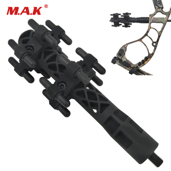 цена на New Compound Bow Stabilizer Rubber Balance Bar Bow Shock Absorber Bow Accessories for Archery Hunting Shooting