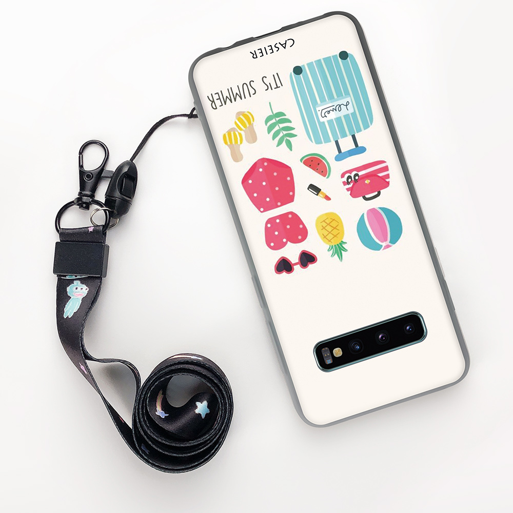 Image 3 - Caseier Прекрасный чехол для samsung Note 8 9 S8 S9 S10 плюс S10E модные чехол для телефона для samsung A7 A5 A6 A8 задняя крышка принципиально Capinha-in Полуобернутый чехлы from Мобильные телефоны и телекоммуникации