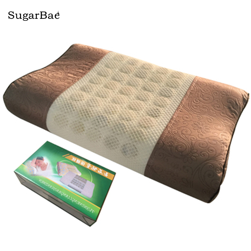 Thermal Therapy Jade Stone Heat Massage Jade Pillow for Beauty with Box Package For SaleThermal Therapy Jade Stone Heat Massage Jade Pillow for Beauty with Box Package For Sale