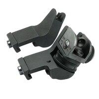 AR15 AR 15 AR 15 Front Rear Sight 45 Degree Rapid Offset Transition Backup Iron Sight