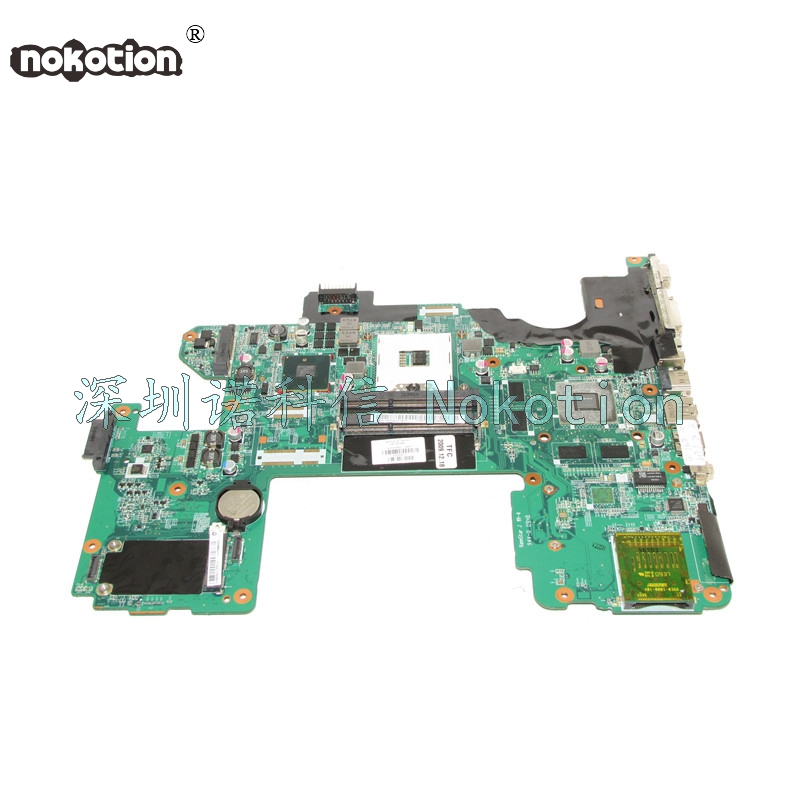 NOKOTION 573758-001 DAUT8AMB8D0 Laptop motherboard For HP Pavilion DV8 PM55 DDR3 GT230M Mainboard nokotion 653087 001 laptop motherboard for hp pavilion g6 1000 series core i3 370m hm55 mainboard full tested