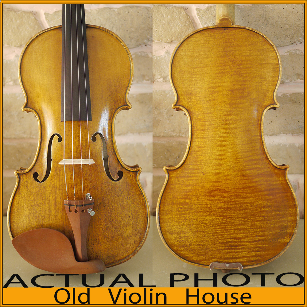 Old Nicolaus Amiati Copy .  Antique varnish,One piece back.Free violin case , bow and rosin. No.2784 austrian spruce ch j b collion mezin copy french master violin no 1408 nice sound antique violin100% handmade