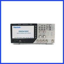 Hantek DSO4102C 디지털 멀티 미터 오실로스코프 USB 100MHz 2 채널 LCD 디스플레이 Osciloscopio Portatil 파형 발생기