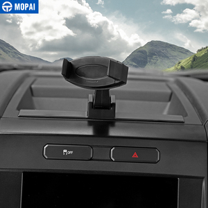 Image 2 - MOPAI Car GPS Mobile Phone Ipad Holder Bracket Cellphone Stand Stickers for Ford F150 2015 Up Interior Accessories Car Styling