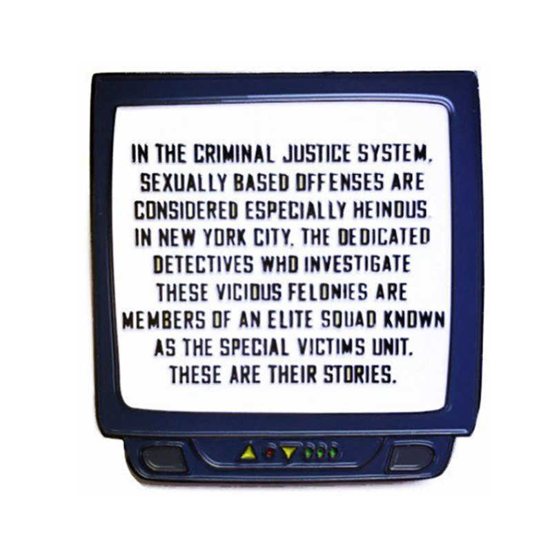 Detail Feedback Questions about Law & Order SVU TV Enamel Pin on